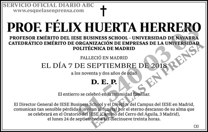 Félix Huerta Herrero